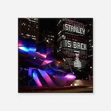 "Stanley Cup Skyline 2013 Square Sticker 3"" x 3"""