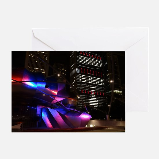 Stanley Cup Skyline 2013 Greeting Card
