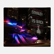 Stanley Cup Skyline 2013 Throw Blanket