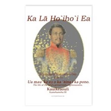 Hawaiian Sovereignty Day Postcards (Package of 8)