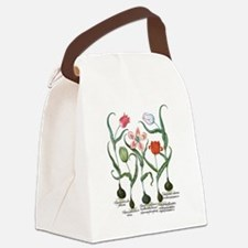 Vintage Tulips by Basilius Besler Canvas Lunch Bag