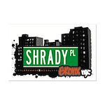 Shrady Pl, Bronx, NYC Mini Poster Print