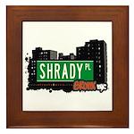 Shrady Pl, Bronx, NYC Framed Tile