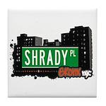 Shrady Pl, Bronx, NYC Tile Coaster
