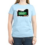 Shrady Pl, Bronx, NYC Women's Light T-Shirt