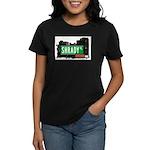 Shrady Pl, Bronx, NYC Women's Dark T-Shirt