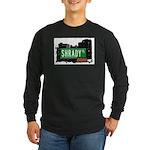 Shrady Pl, Bronx, NYC Long Sleeve Dark T-Shirt