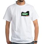 Shrady Pl, Bronx, NYC White T-Shirt