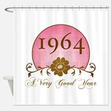 1964 Birthday For Her Shower Curtain
