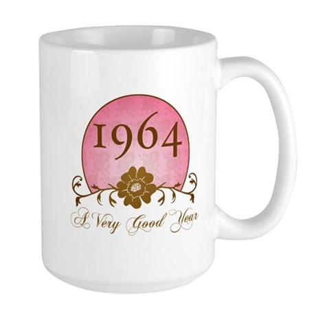 1964 Birthday For Her Large Mug