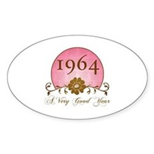 1964 Birthday For Her Decal