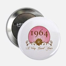 """1964 Birthday For Her 2.25"""" Button"""