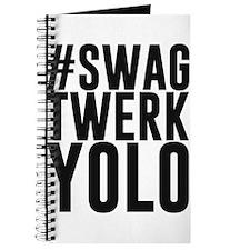 Hashtag Swag Twerk Yolo Journal