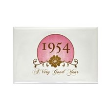 1954 Birthday For Her Rectangle Magnet