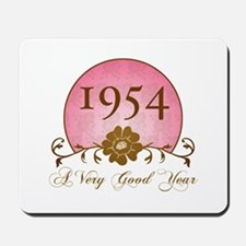1954 Birthday For Her Mousepad