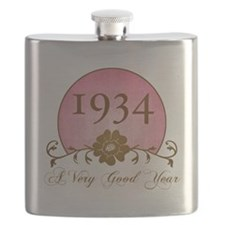 1934 Birthday For Her Flask