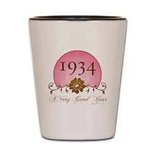 1934 Birthday For Her Shot Glass