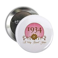 "1934 Birthday For Her 2.25"" Button"