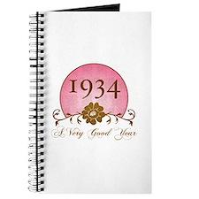 1934 Birthday For Her Journal