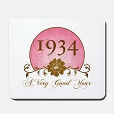 1934 Birthday For Her Mousepad