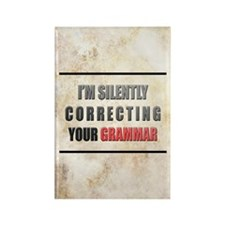 Silently Correcting Your Grammar Rectangle Magnet