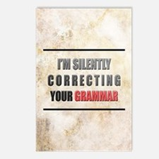 Silently Correcting Your  Postcards (Package of 8)