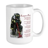 Firefighter  mugs Large Mugs (15 oz)