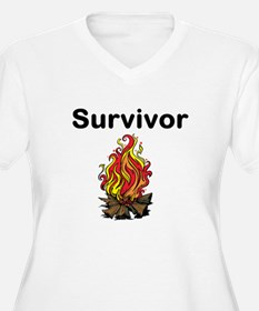 Survivor Plus Size T-Shirt