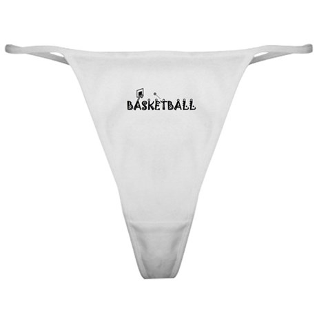 BASKETBALL Pictograph Classic Thong