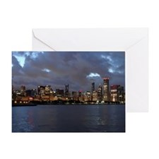 Stanley Cup Skyline 2013 Museum Camp Greeting Card