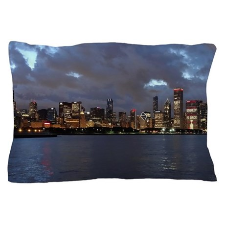 Stanley Cup Skyline 2013 Museum Campus Pillow Case