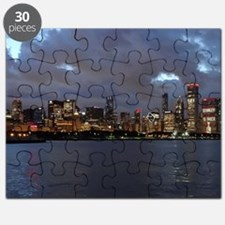 Stanley Cup Skyline 2013 Museum Campus Puzzle
