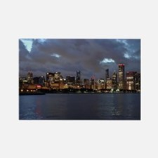 Stanley Cup Skyline 2013 Museum C Rectangle Magnet