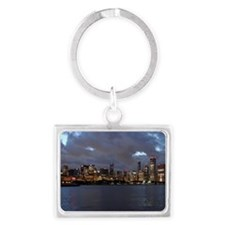 Stanley Cup Skyline 2013 Museum Landscape Keychain