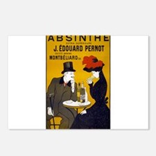 Absinthe, 1905 Postcards (Package of 8)