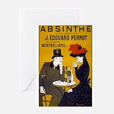Absinthe, 1905 Greeting Cards