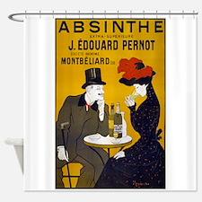 Absinthe, 1905 Shower Curtain