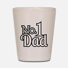 No.1 Dad Shot Glass