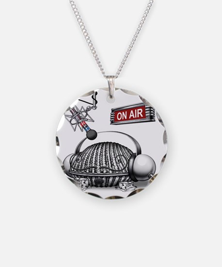 Victor Stabin's NPR Unauthor Necklace Circle Charm