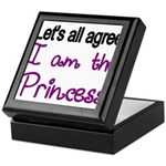 Lets all agree. I am the Princess Keepsake Box