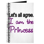 Lets all agree. I am the Princess Journal