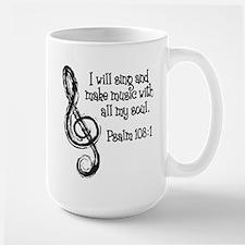 PSALM 108:1 Ceramic Mugs