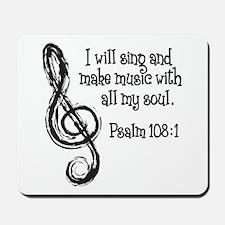 PSALM 108:1 Mousepad