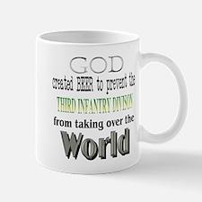 3rd ID, God & Beer Mug
