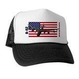 B 52 bomber Trucker Hats