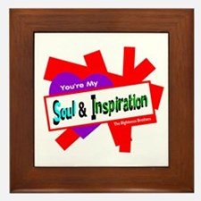 Soul Inspiration-Righteous Brothers Framed Tile