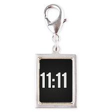 11:11 Silver Portrait Charm