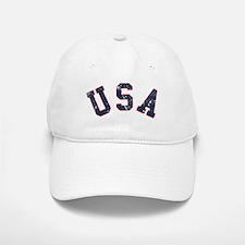 Vintage Team USA Baseball Baseball Cap