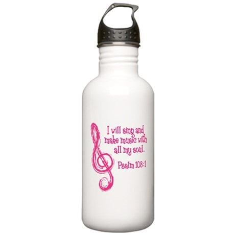 PSALM 108:1 Stainless Water Bottle 1.0L