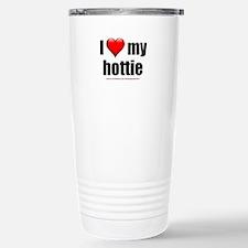 """Love My Hottie"" Stainless Steel Travel Mug"